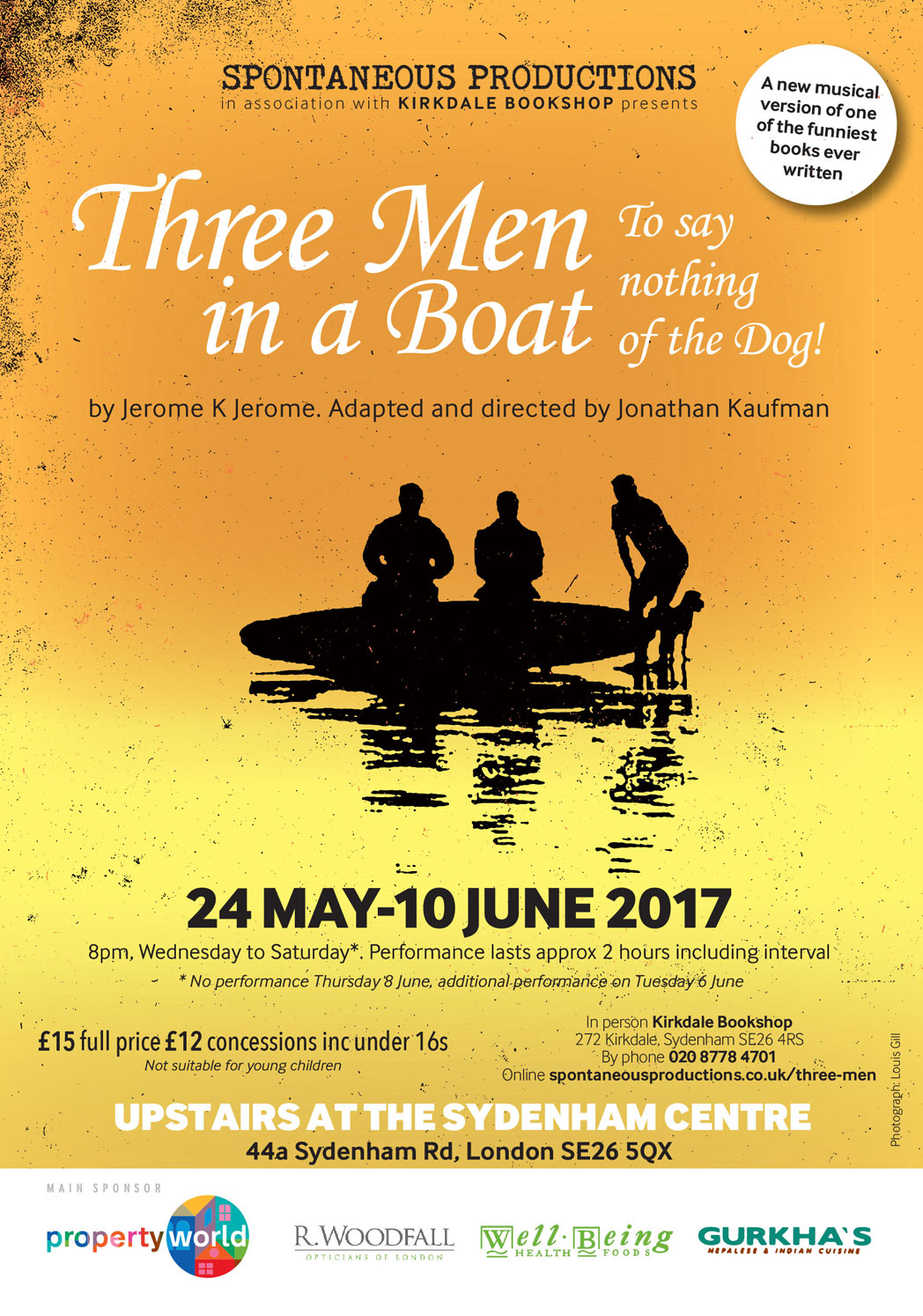 three man in a boat Three men on a boat, harare, zimbabwe 8,883 likes 665 talking about this zimbabwe's leading cutting-edge social commentary site url.